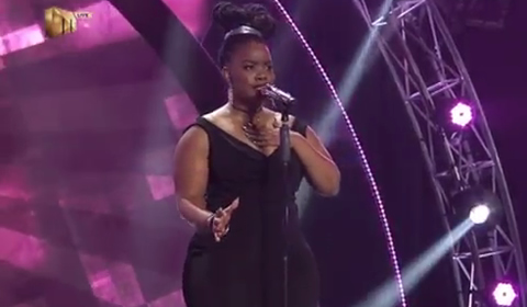 Faith Msibi Performing Next To Me by Emeli Sande