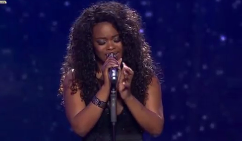 Phindile Dube Performing Butterfly by Mariah Carey