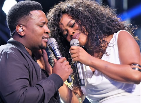 Phindile Dube And Musa Sukwene Duet We Can't Be Friends by Deborah Cox and R.L