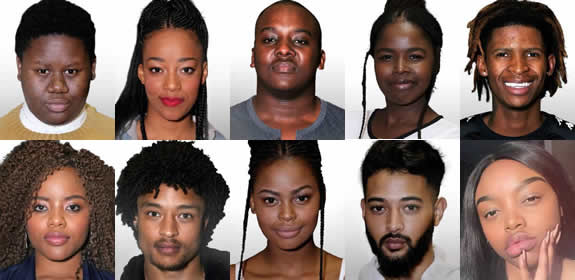 Idols SA 2018 Top 10 Contestants