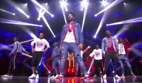Idols SA 2018 Top 16 Boys Performing Finesse By Bruno Mars
