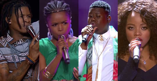 Idols SA 2018 Season 14 Top 4 Contestants Voting