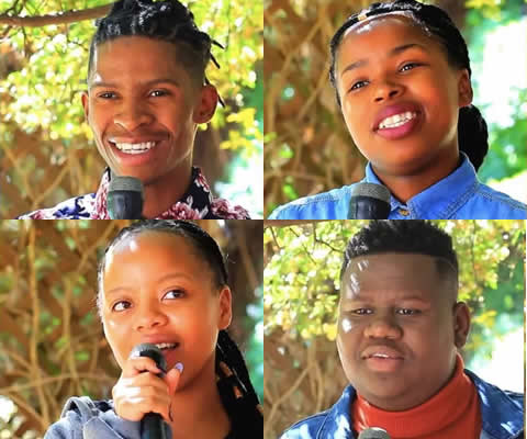 Idols SA 2018 Season 14 Top 4 contestants
