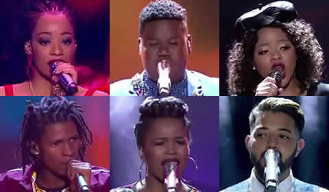 Idols SA 2018 Season 14 Top 6 Contestants