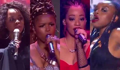 Idols SA 2018 Season 14 Top 7 Girls