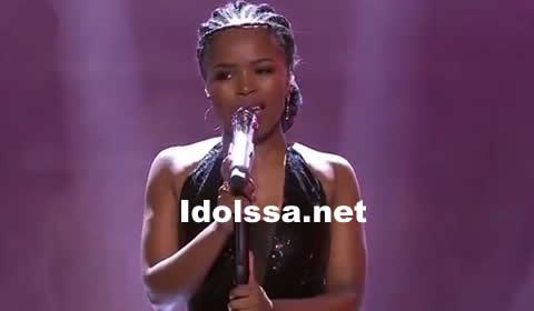 Yanga Sobetwa performing If This Isn't Love by Jennifer Hudson