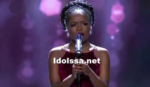 Yanga Sobetwa performing I Will Always Love You by Whitney Houston