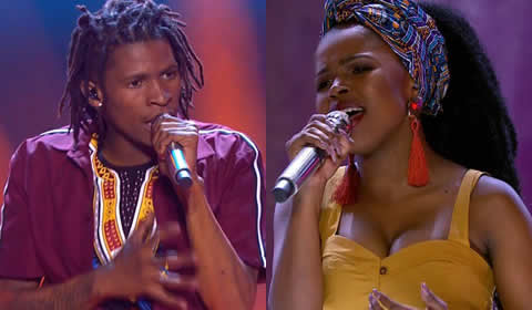 Idols SA 2018 Season 14 Top 2 Contestants Finalists