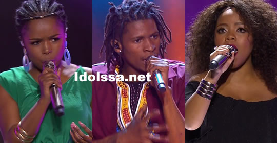 Idols SA 2018 Season 14 Top 3 Contestants Voting