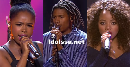 Idols SA Season 14 2018 Top 3 Contestants