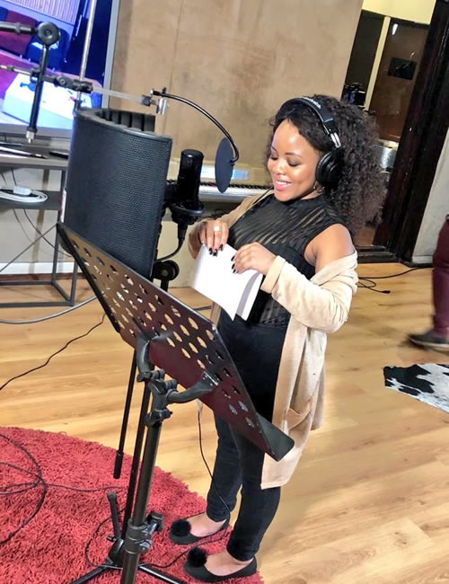 Idols SA 2018 Season 14 Thando Mngomezulu Debut Single Recording Session