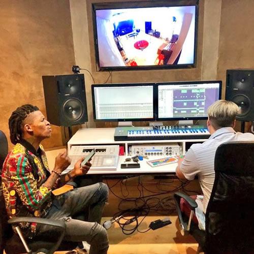 Idols SA 2018 Season 14 Thato Makape Debut Single Recording Session
