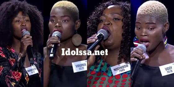 Idols SA Season 15 Theatre Week
