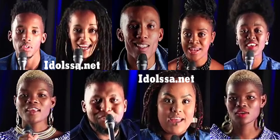Idols SA 2019 Top 17 Contestants Song Choices Group A