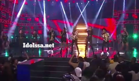 Idols SA 2019 Top 17 Group A Contestants Performing Fela In Versace By AKA ft Kiddominant