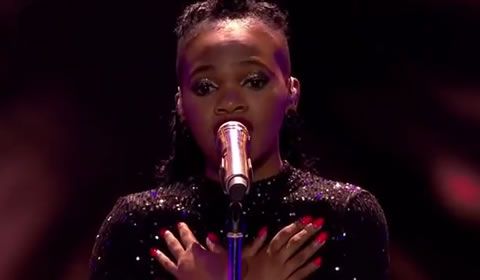 Nqobile Gumede Performing 'Malokazi' By Mduduzi Featuring Berita
