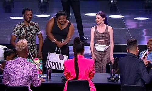 Idols SA Season 15 Top 3 contestants, Luyolo, Sneziey and Micayla buy gifts for the Idols SA Judges