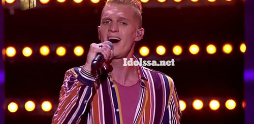 Ethan Norris performing 'Feeling Good' by Michael Bublé on Idols SA 2020 'Season 16'