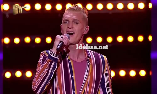 Ethan Norris performing 'Feeling Good' by Michael Bublé on Idols SA 2020 'Season 16'
