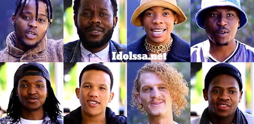 Idols SA 2020 Top 16 Boys Voting Numbers