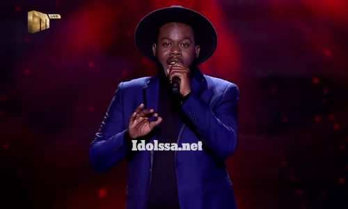 Jooma Mize performing 'Always and Forever' by Luther Vandross on Idols SA 2020 'Season 16'