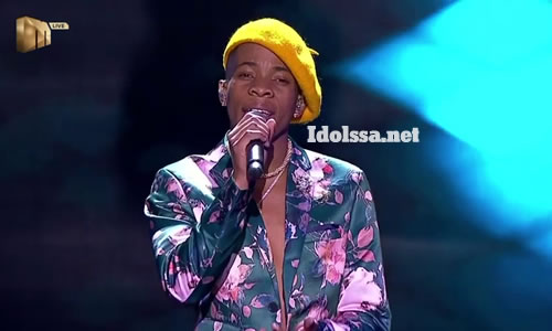 Succedor Zitha performing 'Emotion' by by Destiny's Child on Idols SA 2020 'Season 16'