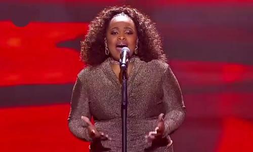 Bongi Mntambo performing 'All The Man That I Need' by Whitney Houston