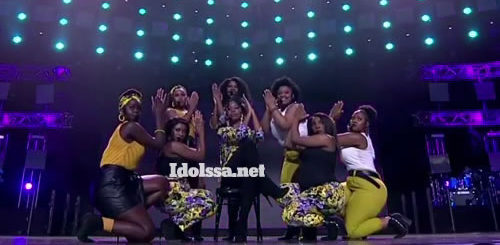 Idols SA 2020 Top 16 Girls Performing 'Ain't Nobody'
