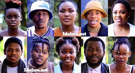 Idols SA 2020 'Season 16' Top 10 Contestants Song Choice