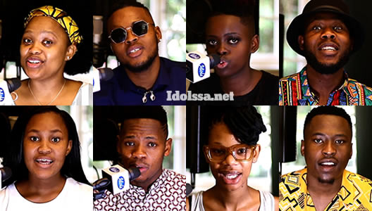 Idols SA 2020 Top 7 Contestants Song Choice Showstopper