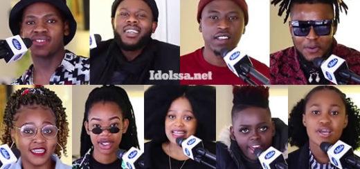 Idols SA 2020 'Season 16' Top 9 Contestants