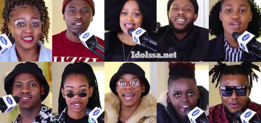 Idols SA 2020 'Season 16' Top 9 Contestants Song Choice