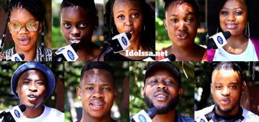 Idols SA 2020 top 8 contestants song choice