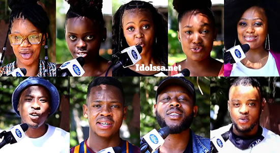 Idols SA 2020 top 8 contestants song choice