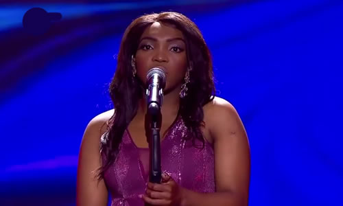 Jerodine Madlala performing 'Something He Can Feel' by Aretha Franklin