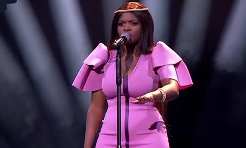 Melanin Zwane performing 'True Colors' by Cyndi Lauper