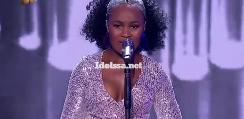 Zama Khumalo Performing 'A Change is Gonna Come' by Jennifer Hudson