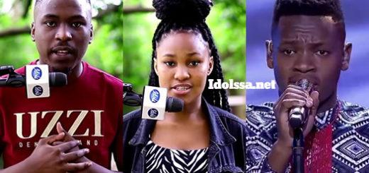 Idols SA 2020 Top 3 contestants