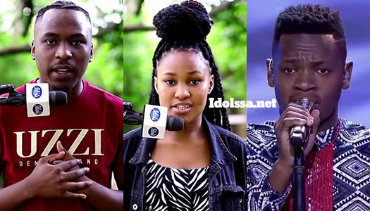 Idols SA 2020 Top 3 contestants