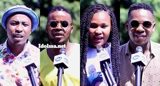 Idols SA 2020 Top 4 contestants