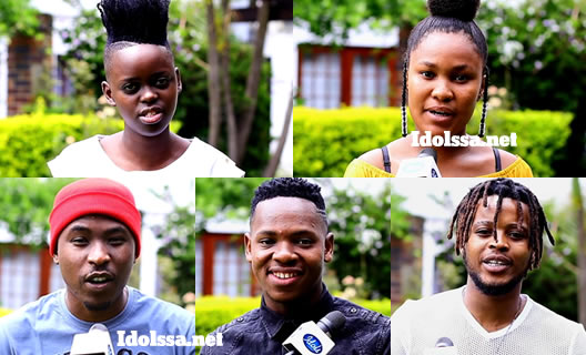 Idols SA 2020 Top 5 Contestants