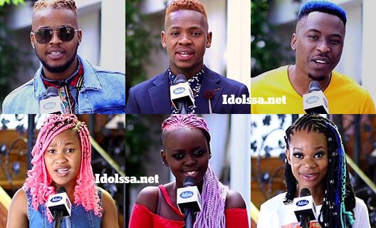 Idols SA 2020 Top 6 Contestants