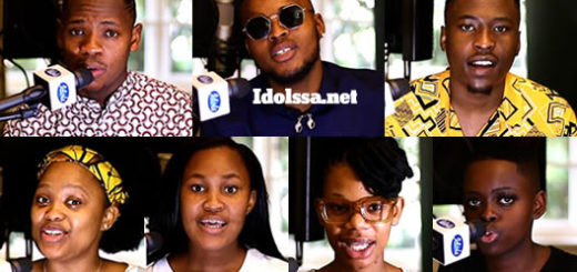 Idols SA 2020 'Season' Top 7 Contestants