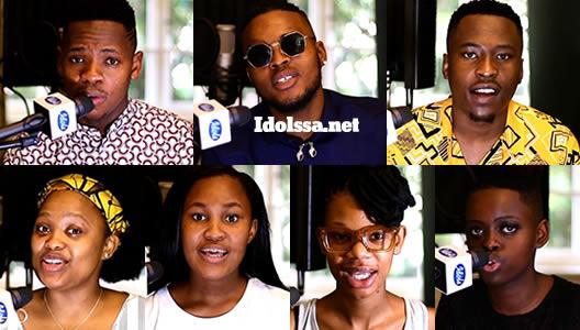 Idols SA 2020 'Season' Top 7 Contestants