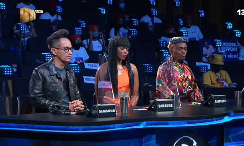 Idols SA 2020 judges during the Top 3 Contestants reveal live show