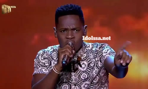 Mr Music performing 'Remember Me' by Lucky Dube on Idols SA 2020