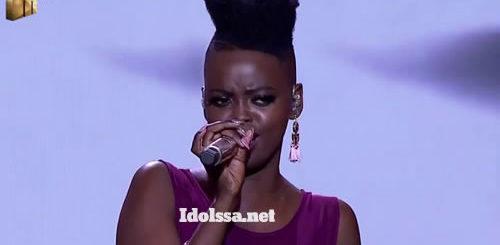 Ndoni Mseleku performing 'Khawuleza' by Hugh Masekela on Idols SA 2020