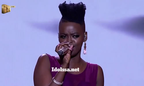 Ndoni Mseleku performing 'Khawuleza' by Hugh Masekela on Idols SA 2020