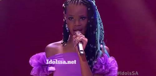 Idols SA 2020 'Season 16' Top 7 'Showstopper': Ntokozo Mvelase performing 'Break My Heart' by Dua Lipa