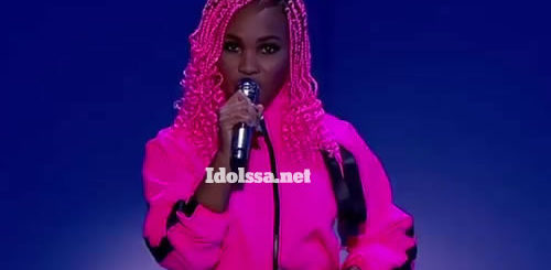 Idols SA 2020 'Season 16' Top 7 'Showstopper': Zama Khumalo performing 'This Is What You Came For' by Calvin Harris and Rihanna